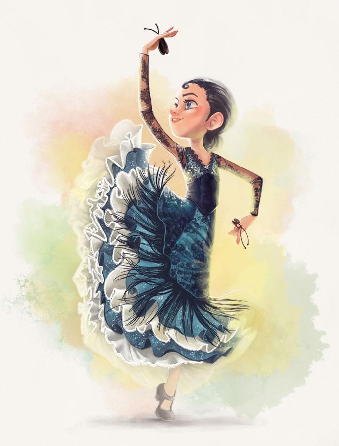 bailando_un_tesoro_mercedes_palacios_danza_estilizada