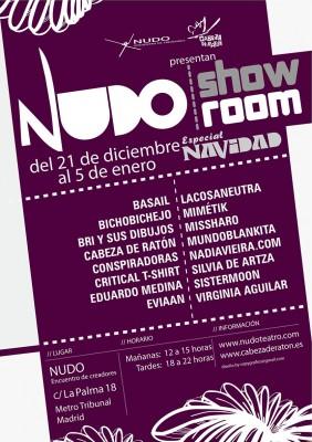 cartel nudo showroom navidad peque