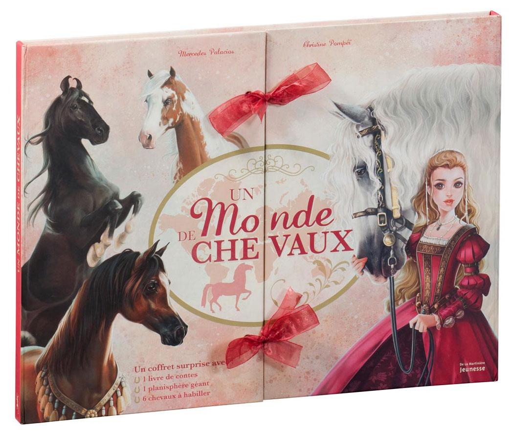 Un Monde de Chevaux - Mercedes Palacios - Cover